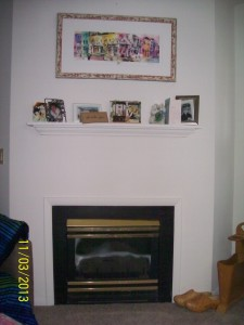 "my ""fireplace"""