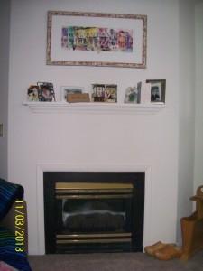 "my ""fireplace"""