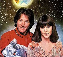 as Mork in Mork & Mindy. 1978