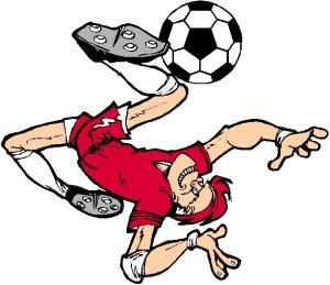 soccer player - wild